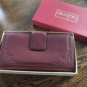🌵 Wine color Vintage Princess Gardner Wallet NEW